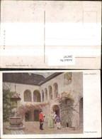 288797,Künstler Ak Carl Probst Frohe Botschaft Postbote Frauen Postwesen Post - Post & Briefboten