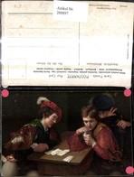 288897,Künstler Ak Michelangelo De Caravaggio Der Falschspieler Männer Kartenspiel Sp - Spielzeug & Spiele