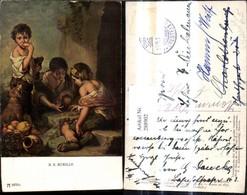 288902,Künstler Ak B. E. Murillo Würfelspieler Spiel Spiele Pub F. A. Ackermann 2075 - Spielzeug & Spiele