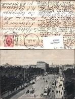 286628,Riga Alexanderboulevard Straßenbahnen Nr. 176 - Lettland