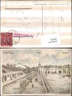 286659,Rawa-Ruska Rynek Ringplatz Platz Straßenansicht - Postcards