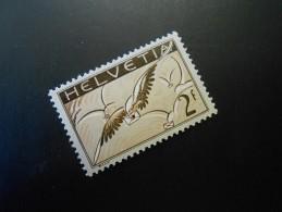 CH ZNr.13z  2Fr.** Flugpost - Taube Wolken 1935 - Geriffeltes Papier - Nuevos