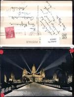 286828,Kambodscha Angkor Wat Vue De Nuit Tempel Beleuchtung - Ansichtskarten