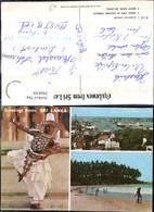 286839,Sri Lanka Colombo Harbour Hafen Kandyan Dancer Tänzer Volkstyp Strand Mehrbild - Sri Lanka (Ceylon)