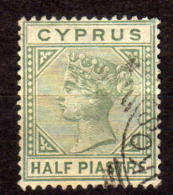 ZYPERN 1882 - MiNr: 16 II A  Used - Zypern (Republik)