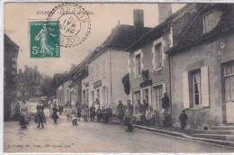 58 COLMERY, La Route De Saint Mâlo, Trés Belle Animation - France