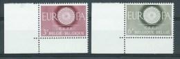 België      OBC      1150 / 1151    (XX)     Postfris - Ohne Zuordnung