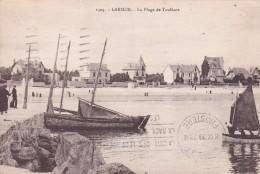 56 LARMOR, La Plage De Toulhars, Animée - Larmor-Plage