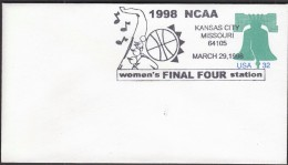 USA Kansas City 1998 / NCAA Basketball / Women's Final Four Station - Basketball