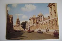 Oxford  England  INGHILTERRA  POSTCARD USED - Oxford