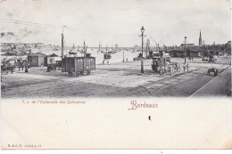 BORDEAUX - V. P. De L'Esplanade Des Quinconces - Bordeaux