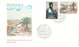 Sobre De Primer Dia   Serie Nº 312/3  Sahara - Sahara Español