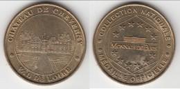**** CHATEAU DE CHEVERNY -VAL DE LOIRE 1999 - MONNAIE DE PARIS **** EN ACHAT IMMEDIAT !!! - Monnaie De Paris