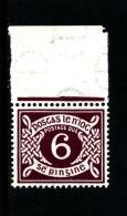 IRELAND/EIRE - 1960  POSTAGE DUE  6d. E WMK  MINT NH SG D11 - Segnatasse