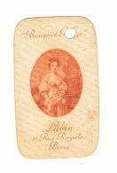Carte Parfumée LUBIN Paris ( Dommage Du Trou D'archivage ) Fr37 - Antiquariat (bis 1960)