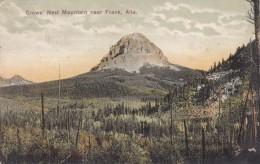 CANADA ALBERTA CROW'S NEST MOUNTAIN NEAR FRANK ALTA BELLE CARTE RARE !!! - Alberta