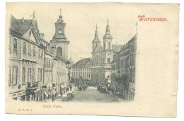 WARSZAWA (Pologne) Varsovie - Ulica Freta - Belle Animtion - Polen