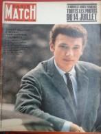 Paris Match N° 693 21 Juillet 1962 Johnny HALLYDAY Les Secrets D'une Carrière Fulgurante - Informations Générales