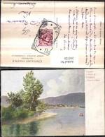 292720,Künstler AK Puglia Brindisi Fasano Lago Di Garda Gardasee Landori Pittore - Brindisi