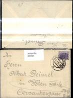289503,Kuvert M. Brief Nach Wien V. Stein A. D. Donau 1933 - Österreich
