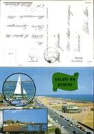 292762,Emilia-Romagna Rimini Strand Strandleben Segelboot Mehrbildkarte - Rimini