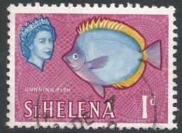 St Helena. 1961-65 QEII. 1d Used. SG 176 - Saint Helena Island