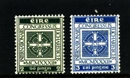 IRELAND/EIRE - 1933  HOLY YEAR  SET  MINT NH - 1922-37 Stato Libero D'Irlanda