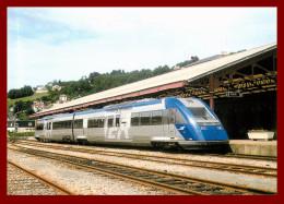 LE RAIL USSELLOIS - En Gare De Tulle   - N°274 -   ( Scan Recto Et Verso ) - Bahnhöfe Mit Zügen