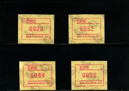 IRELAND/EIRE - 1990  FRAMA SET 2  MINT NH - Affrancature Meccaniche/Frama