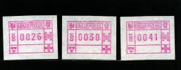 IRELAND/EIRE - 1990  FRAMA SET 1  MINT NH - Affrancature Meccaniche/Frama