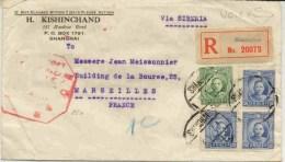 Lettre Recommandée De Chine En 1937 - China