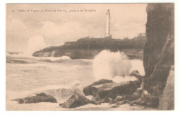 Tarjeta Postal Biarritz. Faro - Lighthouses