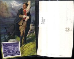 289808,Künstler Ak Venc. Cerneho Mann Soldat Uniform M. Fahne Flagge Landschaft Polit - Geschichte