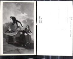 289770,Künstler Ak Goya El Pelele Frauen Werfen Männer-Puppe M. Sprungtuch Spiel - Spielzeug & Spiele