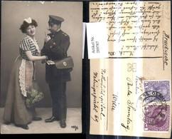 289787,Postwesen Briefträger Postbote M. Frau Einkaufstasche - Post & Briefboten