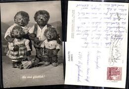289851,Mecki 1 Igel Familie Gruppenbild Puppe Wir Sind Glücklich - Mecki