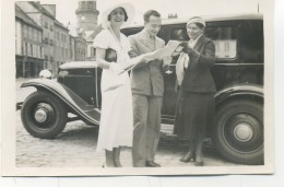 22- LAMBALLE : Rencontre ....photo 1933 ( 6x9 ) . - Lamballe