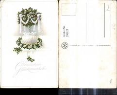 290123,Hochzeit Glückwunsch Blumentopf Schleife Blumen - Hochzeiten