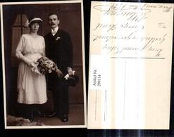 290114,Foto Ak Brautpaar Hochzeit Passepartout Hochzeitsfoto - Hochzeiten