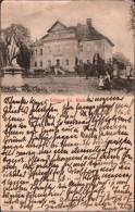 ! Alte Ansichtskarte Schloss Groß Rietz , 1902, Adelsadresse - Rietz-Neuendorf
