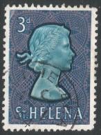 St Helena. 1961-65 QEII. 3d Used. SG 179 - Saint Helena Island
