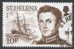 St Helena. 1986 Explorers. 10p Used. SG 492 - Saint Helena Island