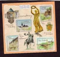 2003.BLOC N° 64** CAPITALES EUROPEENNES LUXEMBOURG - Blocs & Feuillets