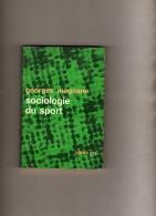 Georges Magnane  - Sociologie Du Sport  - Idées Nrf  -  SP  - - Livres Dédicacés