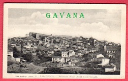 GRECE - SALONIQUE - Panorama (Nord-Ouest) Avant L'incendie - Grèce