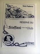 1258  - Suisse Vaud   St-Saphorin  Réserve Steffani**** Club St.Moritz - Autres