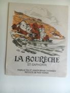 1260  - Suisse Vaud   St-Saphorin  La Bourèche - Etiquettes