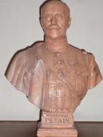 Buste Du Maréchal Pétain* - 1914-18