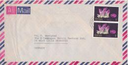 Kenya Air Mail Cover Sent To Denmark - Kenya (1963-...)