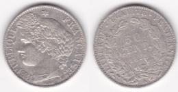 50 CENTIMES - CERES 1895 A En ARGENT (voir Scan) - G. 50 Centimes